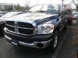 2008 Patriot Blue Pearl Dodge Ram 1500 SLT Quad Cab 4x4 #61344872