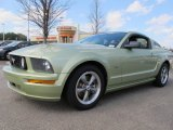 2005 Legend Lime Metallic Ford Mustang GT Premium Coupe #61345519
