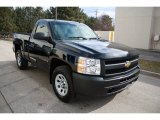 2009 Black Chevrolet Silverado 1500 Regular Cab 4x4 #61345473