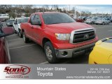 2010 Radiant Red Toyota Tundra TRD Double Cab 4x4 #61344137
