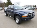 2004 Patriot Blue Pearl Dodge Dakota Sport Quad Cab 4x4 #61344060