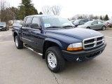 2004 Patriot Blue Pearl Dodge Dakota Sport Quad Cab 4x4 #61344060
