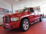 2003 Flame Red Dodge Ram 1500 SLT Quad Cab #61345423