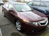 2009 Basque Red Pearl Acura TSX Sedan #61344042
