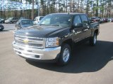 2012 Black Granite Metallic Chevrolet Silverado 1500 LT Crew Cab 4x4 #61345382