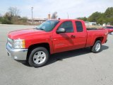 2012 Victory Red Chevrolet Silverado 1500 LT Extended Cab 4x4 #61345354