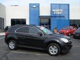2010 Black Granite Metallic Chevrolet Equinox LT AWD #61344727