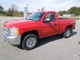 2012 Victory Red Chevrolet Silverado 1500 LS Regular Cab 4x4 #61345351