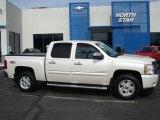 2011 White Diamond Tricoat Chevrolet Silverado 1500 LT Crew Cab 4x4 #61344723