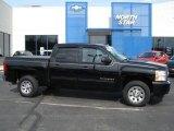 2009 Black Chevrolet Silverado 1500 LS Crew Cab #61344719
