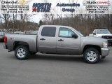 2012 Graystone Metallic Chevrolet Silverado 1500 LT Crew Cab 4x4 #61344714