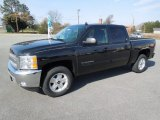 2012 Black Granite Metallic Chevrolet Silverado 1500 LT Crew Cab 4x4 #61345342
