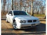 2003 Titanium Silver Metallic BMW 7 Series 745i Sedan #61345337