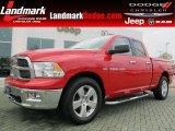 2012 Flame Red Dodge Ram 1500 Big Horn Quad Cab #61344671
