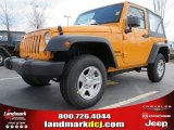 2012 Dozer Yellow Jeep Wrangler Sport 4x4 #61344651