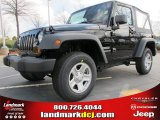 2012 Black Jeep Wrangler Sport 4x4 #61344650