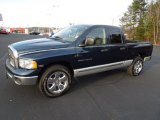 2005 Patriot Blue Pearl Dodge Ram 1500 SLT Quad Cab #61345302