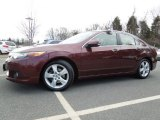 2009 Basque Red Pearl Acura TSX Sedan #61345236