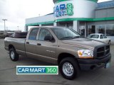 2006 Light Khaki Metallic Dodge Ram 1500 ST Quad Cab 4x4 #61345218