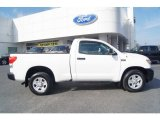 2007 Super White Toyota Tundra Regular Cab 4x4 #61457491