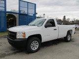 2012 Summit White Chevrolet Silverado 1500 Work Truck Regular Cab 4x4 #61457456