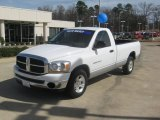 2006 Bright White Dodge Ram 1500 SLT Regular Cab #61457674