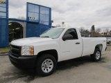 2012 Summit White Chevrolet Silverado 1500 Work Truck Regular Cab 4x4 #61457450