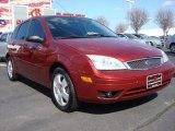 2005 Sangria Red Metallic Ford Focus ZX5 SES Hatchback #61457865