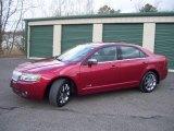 2008 Vivid Red Metallic Lincoln MKZ AWD Sedan #61457443