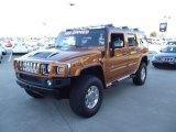 2006 Fusion Orange Hummer H2 SUV #61457632