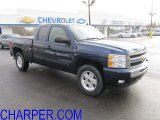 2009 Imperial Blue Metallic Chevrolet Silverado 1500 LT Extended Cab 4x4 #61457821