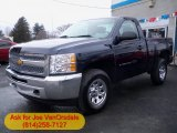 2012 Imperial Blue Metallic Chevrolet Silverado 1500 LS Regular Cab 4x4 #61457384
