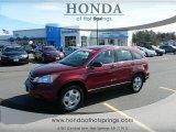 2011 Tango Red Pearl Honda CR-V LX #61457613