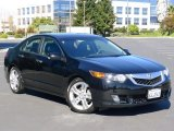 2010 Crystal Black Pearl Acura TSX V6 Sedan #61457362