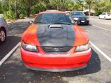 2003 Torch Red Ford Mustang Mach 1 Coupe #61457330