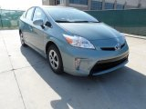 2012 Sea Glass Pearl Toyota Prius 3rd Gen Three Hybrid #61457541