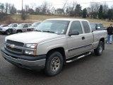 2005 Silver Birch Metallic Chevrolet Silverado 1500 LS Extended Cab 4x4 #61457502