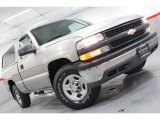 2002 Light Pewter Metallic Chevrolet Silverado 1500 LS Regular Cab 4x4 #61499679