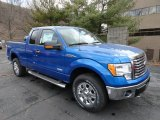 2012 Blue Flame Metallic Ford F150 XLT SuperCab 4x4 #61499520