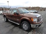 2012 Golden Bronze Metallic Ford F150 XLT SuperCab 4x4 #61499519