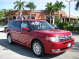 2010 Red Candy Metallic Ford Flex SEL #61499509