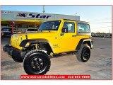 2011 Detonator Yellow Jeep Wrangler Sport S 4x4 #61499643