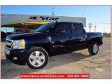 2008 Dark Blue Metallic Chevrolet Silverado 1500 LT Crew Cab #61499640