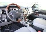 2012 Toyota Tundra Platinum CrewMax 4x4 Graphite Interior