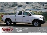 2012 Super White Toyota Tundra Double Cab 4x4 #61499446