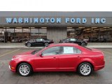 2010 Red Candy Metallic Ford Fusion SEL V6 #61499600