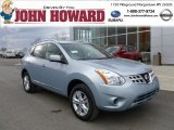 2012 Frosted Steel Nissan Rogue SV AWD #61499726