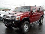 2005 Hummer H2 Red Metallic