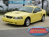 2003 Zinc Yellow Ford Mustang V6 Coupe #61530084