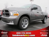 2012 Mineral Gray Metallic Dodge Ram 1500 Express Quad Cab #61537686